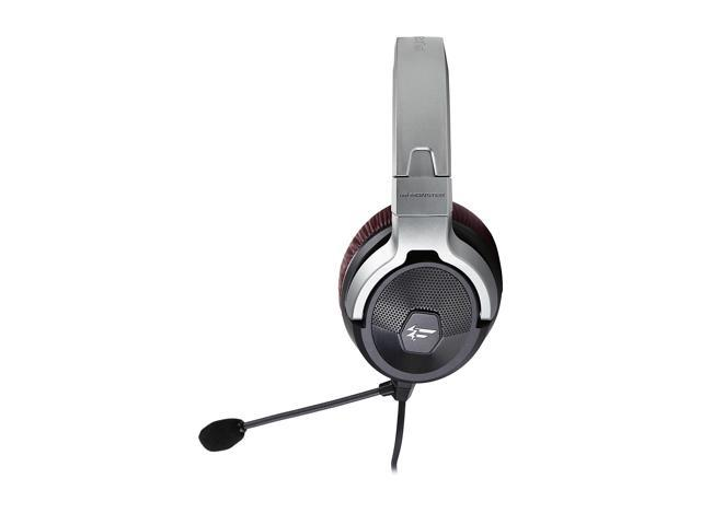 Fatal1ty by Monster FXM 200 Ultra High Performance Gaming Over-Ear Headphones, Black Matte
