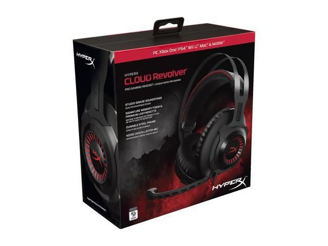 HyperX Cloud Revolver 3.5mm Connector Circumaural Gaming Headset for PC & PS4