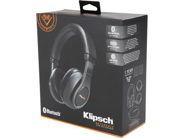 Klipsch Reference Over-Ear Blutetooth Wireless Headphones - Black