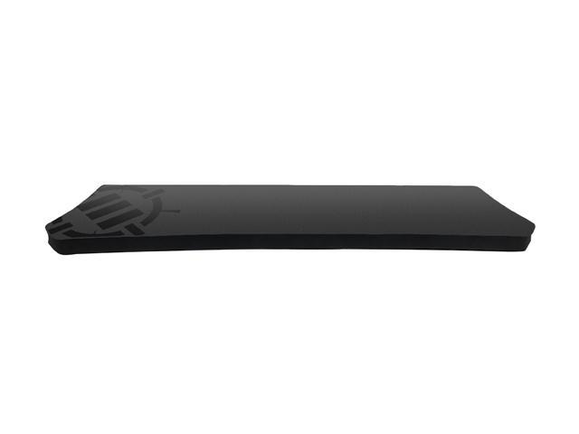 ENHANCE Gaming Keyboard Wrist Rest Pad for Full Size Mechanical Gamer Keyboards with Ergonomic Support, Non-Slip Rubber Backing , No-Fray Design - Great with Corsair, CM Storm, Logitech, Razer