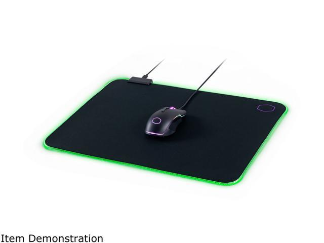 Cooler Master MasterAccessory MP750 Soft Mouse Pad with Water Resistant Surface and Thick RGB Borders