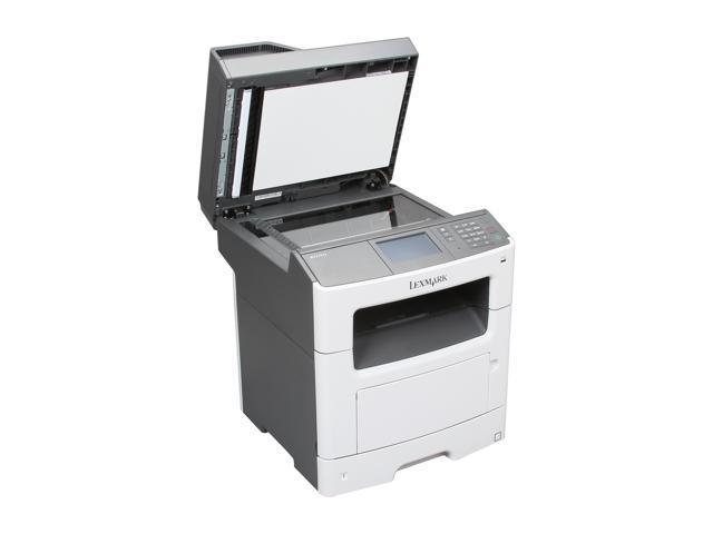 Lexmark MX410de Up to 40 ppm 1200 x 1200 dpi USB/Ethernet Duplex Monochrome Laser Multifunction Printer