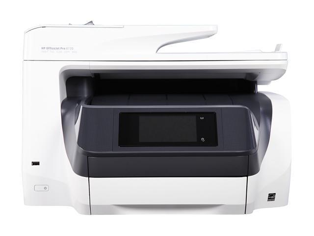 HP OfficeJet Pro 8720 WH (M9L75A#B1H) Duplex 4800 x 1200 DPI Wireless/USB Color Inkjet MFC Printer