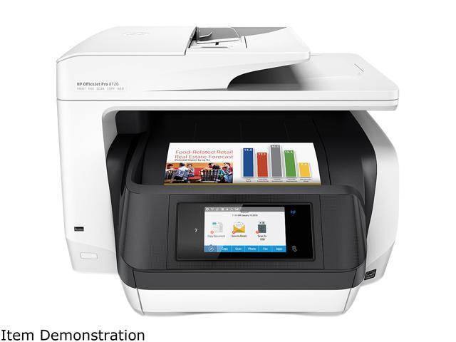 HP OfficeJet Pro 8720 (M9L75A) Duplex Wireless All-In-One Color InkJet Printer