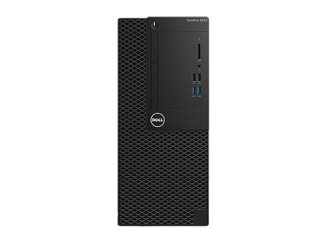 DELL Desktop Computer OptiPlex 3050 (T2410) Intel Core i5 7th Gen 7500 (3.40 GHz) 8 GB DDR4 500 GB HDD Intel HD Graphics 630 Windows 10 Pro 64-Bit