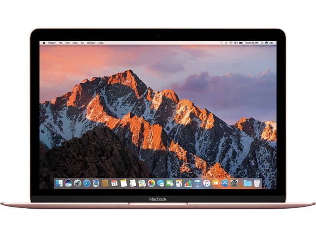 Refurbished: Apple Macbook (MNYM2LL/A) 12-inch Retina Display Intel Core m3 8GB Memory 256GB SSD - Rose Gold (Mid-2017)