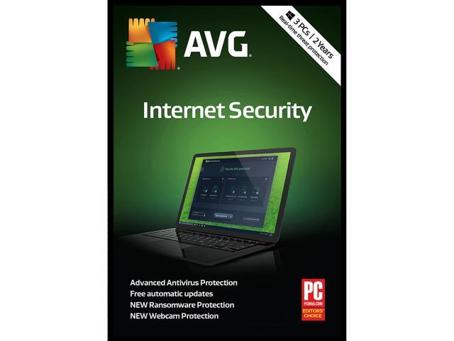AVG Internet Security 2018, 3 PCs 2 Years - Download