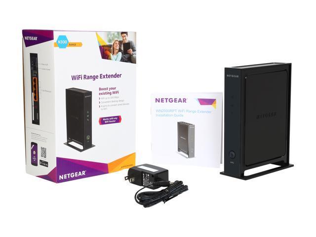 NETGEAR N300 WiFi Range Extender - Desktop Version (WN2000RPT-200NAS)