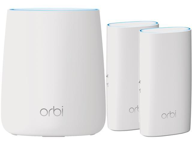Orbi Home Wi-Fi System. Up to 5,000 sq.ft. AC2200 Tri-Band Wi-Fi (RBK23W) By NETGEAR [Wi-Fi Router & Satellite]