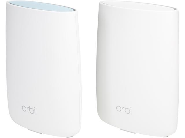 Refurbished: Netgear RBK50-100NAR Orbi Home Mesh Wi-Fi System AC3000