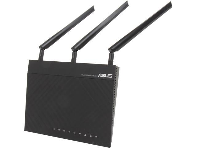 Refurbished: Asus Certified RT-N66R Dual-Band Wireless-N900 Gigabit Router, DD-WRT Open Source Support