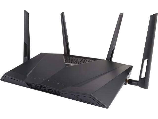 Refurbished: ASUS RT-AC3100 Wireless AC3100 Dual-Band Gigabit Router, AiProtection with Trend Micro for Complete Network Security-Certified Refurbished