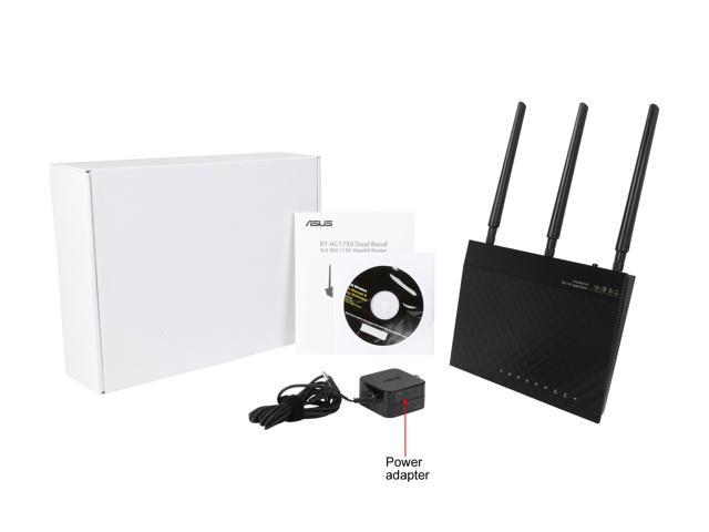 Refurbished: Asus Certified AC1750 Wireless Dual Band Gigabit Router