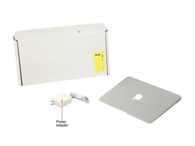 "Refurbished: Apple Grade B Laptop MacBook Air (Mid-2012) MD223LL/A Intel Core i5 3rd Gen 1.70 GHz 4 GB Memory 64 GB SSD 11.6"" Mac OS X v10.13 High Sierra"