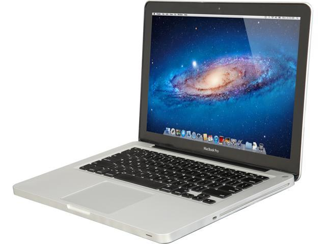 Refurbished: Apple B Grade Laptop MacBook Pro MD101LL/A-Refurb B Intel Core i5 2.50 GHz 4 GB Memory 500 GB HDD Intel HD Graphics 4000 13.3""