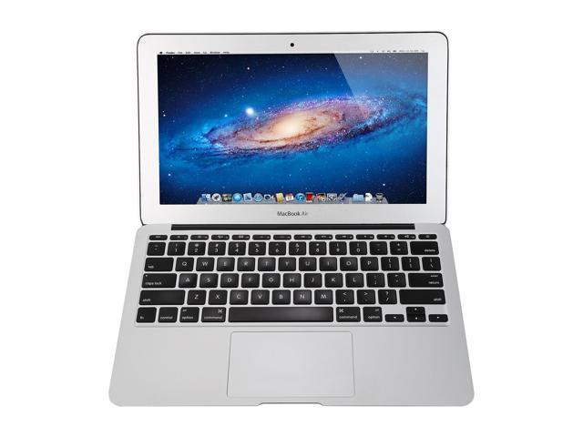 "Refurbished: Apple Laptop MacBook Air MC968LL/A Intel Core i5 1.6 GHz 2 GB Memory 64 GB SSD 11.6"" Mac OS X v10.7 Lion (B Grade)"