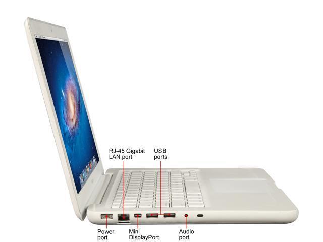 "Refurbished: Apple Grade C Laptop MacBook MC207LL/A-C Intel Core 2 Duo 2.26 GHz 2 GB Memory 250 GB HDD NVIDIA GeForce 9400M 13.3"" Mac OS X"