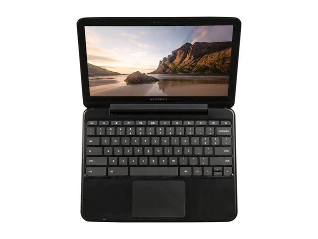 "Refurbished: SAMSUNG XE500C21-AZ2US-B B Grade Chromebook Intel Atom N570 (1.66 GHz) 2 GB Memory 16 GB SSD 12.1"" Chrome OS"