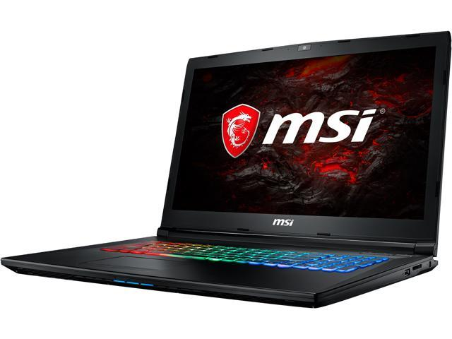 "MSI GP Series GP72MVRX Leopard Pro-677 17.3"" Intel Core i7 7th Gen 7700HQ (2.80 GHz) NVIDIA GeForce GTX 1060 16 GB Memory 512 GB NVMe SSD 120 Hz Refresh Rate Windows 10 Home 64-Bit Gaming Laptop"