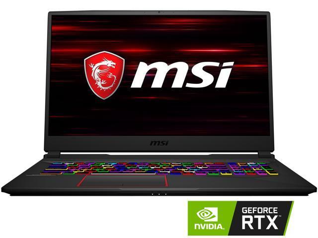 "MSI GE75 Raider-049 17.3"" 144 Hz IPS Intel Core i7 8th Gen 8750H (2.20 GHz) NVIDIA GeForce RTX 2070 16 GB Memory 256 GB NVMe SSD 1 TB HDD Windows 10 Home 64-bit Gaming Laptop"