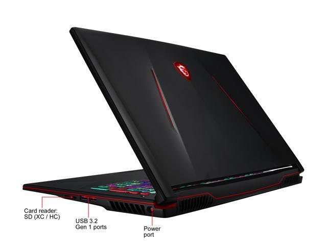 "MSI GL63 9SDK-610 15.6"" 120 Hz IPS Intel Core i7 9th Gen 9750H (2.60 GHz) NVIDIA GeForce GTX 1660 Ti 16 GB Memory 512 GB NVMe SSD Windows 10 Pro 64-bit Gaming Laptop"