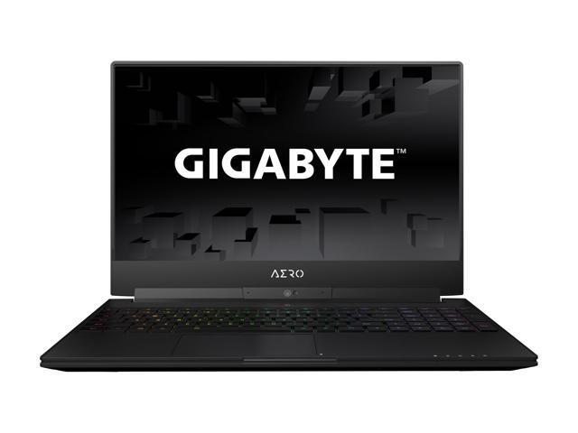 "GIGABYTE Aero 15X v8-BK4 15.6"" Thin Bezel 144 Hz GTX 1070 8GB VRAM  i7-8750H 16 GB Memory 512 GB SSD Windows 10 Home VR Ready Gaming Laptop"