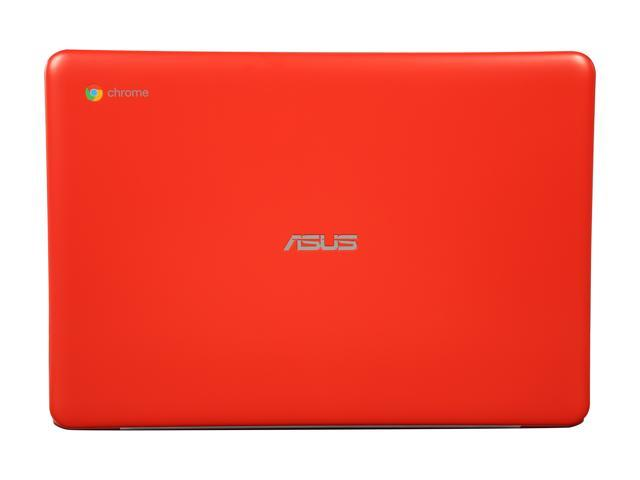 "ASUS C300 (C300SA-DH02-RD) Red Chromebook Intel Celeron N3060 (1.60 GHz) 4 GB LPDDR3 Memory 16 GB eMMC 13.3"" Chrome OS"