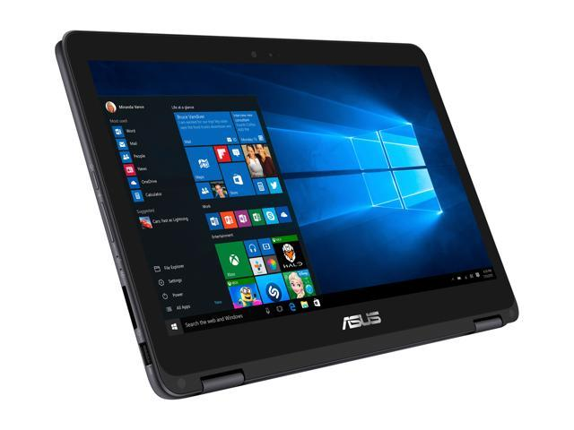 ASUS ZenBook Flip UX360UA-DS51T 13.3 inch Touchscreen Convertible Laptop, Intel Core i5 8GB DDR3 256GB SSD with Windows 10 (Mineral Grey), Backlit keyboard