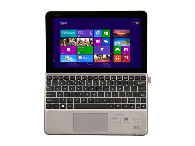 "Refurbished: ASUS Transformer Book T102HA-C4-GR Intel Atom x5-Z8350 (1.44 GHz) 4 GB Memory 64 GB SSD Intel HD Graphics 10.1"" Touchscreen 1280 x 800 Detachable 2-in-1 Laptop Windows 10 Home Keyboard and Pen Included"