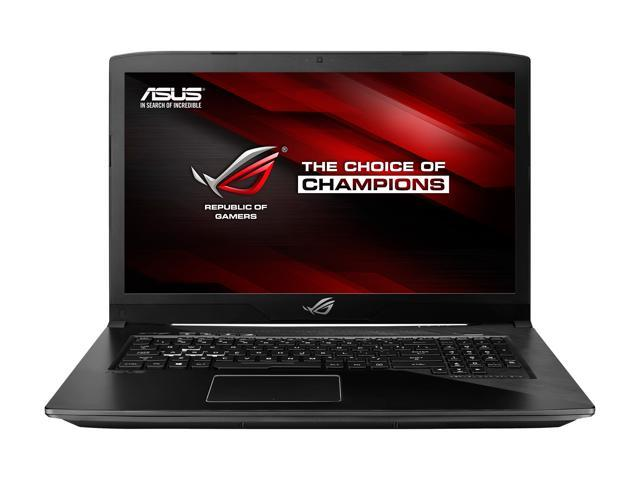 "ASUS ROG STRIX GL703VD GL703VD-DB74 17.3"" 1920 x 1080 Gaming Laptop, GTX 1050 4 GB, Intel Core i7-7700HQ 2.80 GHz, 16 GB DDR4, 256 GB SSD + 1 TB HDD, RGB Keyboard, Windows 10 Home"