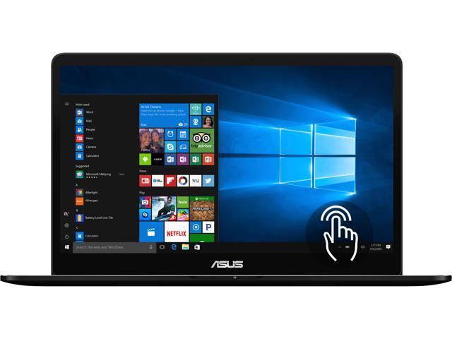 "ASUS Zenbook Pro UX550VE-DB71T 15.6"" Intel Core i7 7th Gen 7700HQ (2.80 GHz) NVIDIA GeForce GTX 1050 Ti 16 GB Memory 512 GB SSD Windows 10 Home 64-Bit Gaming Laptop"