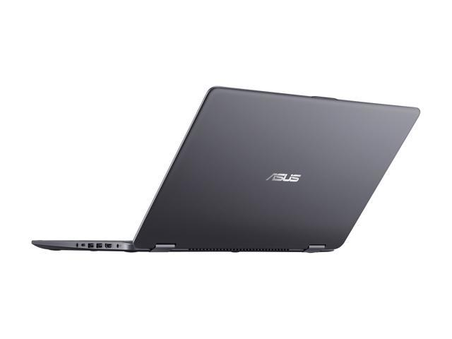 "ASUS Vivobook Flip 15 TP510UA-DH71T Intel Core i7 8th Gen 8550U (1.80 GHz) 8 GB Memory 1 TB HDD 15.6"" Touchscreen 1920 x 1080 Convertible 2-in-1 Laptop Windows 10 Home 64-Bit"