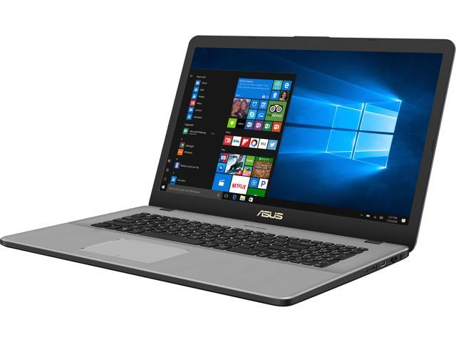 asus vivobook pro 17 n705ud eh76 17 3 thin and portable fhd laptop 8th gen intel core i7 8550u. Black Bedroom Furniture Sets. Home Design Ideas
