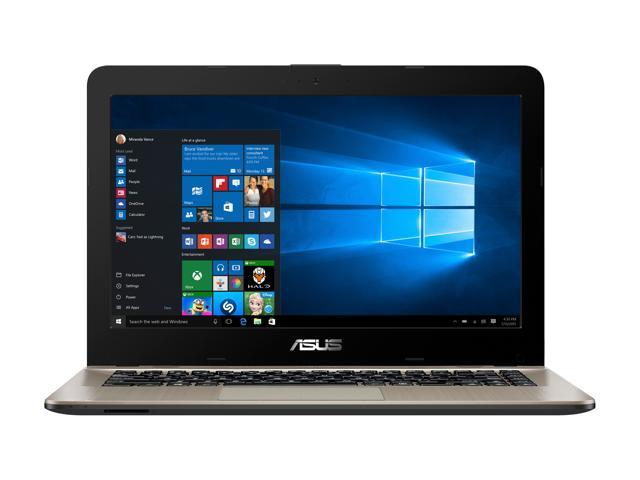 """ASUS VivoBook F441BA-DS94 Light and Powerful Laptop, AMD A9-9420 Dual Core Processor (Boost up to 3.6 GHz) with Radeon R5 Graphics, 8 GB DDR4 RAM, 256 GB SSD, 14"""" FHD Display, Windows 10 , F441BA-DS94"""