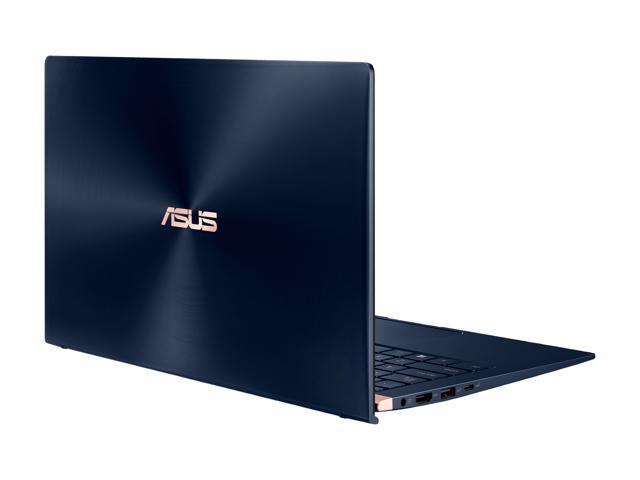 "ASUS ZenBook 14"" Intel Core Whiskey Lake i7-8565U Processor, 16 GB LPDDR3, 512 GB PCIe SSD, Backlit KB, NumberPad, FHD Nano-Edge Bezel Windows 10 - UX433FA-DH74, Royal Blue"