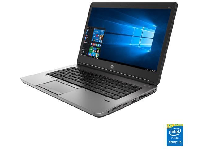 "Refurbished: HP Laptop ProBook 640 G1 Intel Core i5 4th Gen 4300M (2.60 GHz) 8 GB Memory 500 GB HDD 14.0"" Windows 10 Pro"