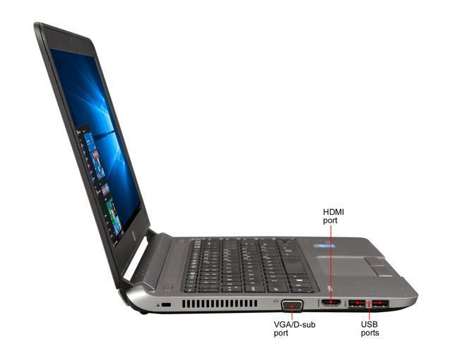 "Refurbished: HP Grade A Laptop 430 G1 Intel Core i5 4th Gen 4300U (1.90 GHz) 4 GB Memory 128 GB SSD 13.3"" Windows 10 Pro 64-Bit"