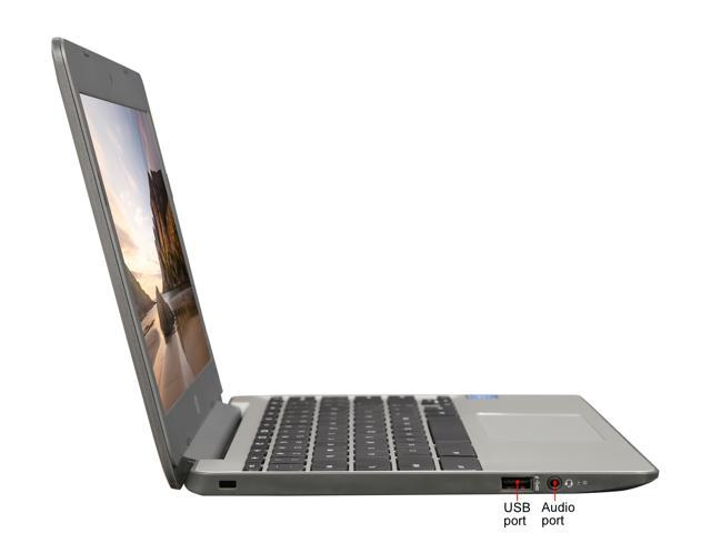 "Refurbished: HP 11-V010NR Chromebook Intel Celeron N3060 (1.60 GHz) 4 GB Memory 16 GB SSD 11.6"" Chrome OS"