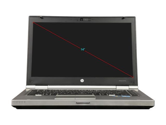 "Refurbished: HP Grade B Laptop 8470p Intel Core i5 3rd Gen 3320M (2.60 GHz) 4 GB Memory 250 GB HDD 14.0"" Windows 7 Professional"