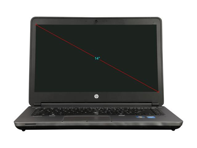 "Refurbished: HP B Grade Laptop ProBook 640 G1 Intel Core i5 4th Gen 4300M (2.60 GHz) 4 GB Memory 320 GB HDD 14.0"" Windows 7 Professional MAR"