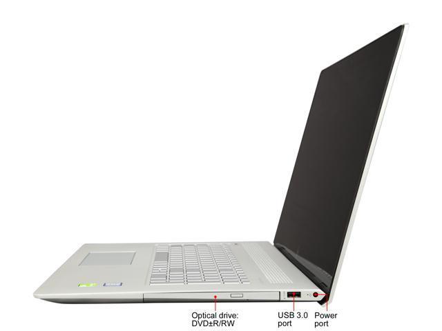 "Refurbished: HP Laptop ENVY 17m-ae011dx Intel Core i7 7th Gen 7500U (2.70 GHz) 16 GB Memory 1 TB HDD NVIDIA GeForce 940MX 17.3"" Touchscreen Windows 10 Home 64-Bit"