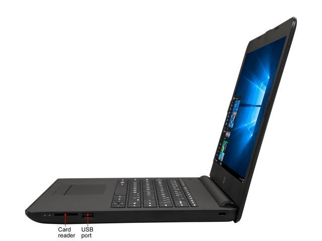 "Refurbished: HP Grade A Laptop 14-bw012nr AMD E2-Series E2-9000E (1.5 GHz) 4 GB Memory 32 GB SSD 14.0"" Windows 10 Home"