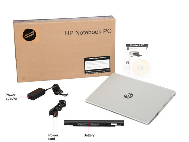 "Refurbished: HP Laptop 15-BS058CA Intel Core i5 7th Gen 7200U (2.50 GHz) 8 GB Memory 1 TB HDD Intel HD Graphics 620 15.6"" Touchscreen Windows 10 Home 64-Bit"