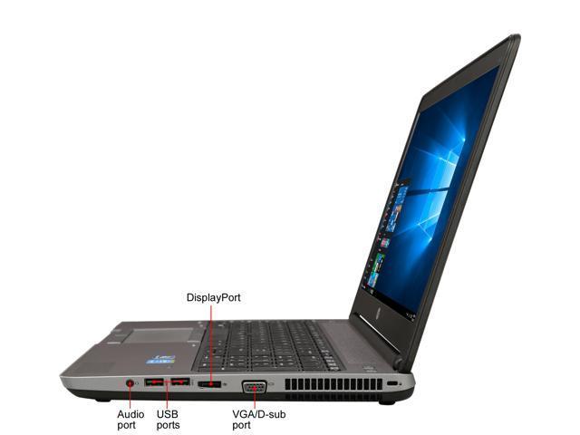 "Refurbished: HP Grade B Laptop 650 G1 Intel Core i5 4th Gen 4300M (2.60 GHz) 8 GB Memory 320 GB HDD 15.6"" Windows 10 Pro 64-bit"