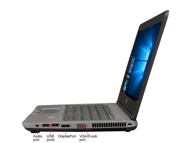 "Refurbished: HP Grade B Laptop 645 G1 AMD A8-Series A8-4500M (1.90 GHz) 4 GB Memory 320 GB HDD 14.0"" Windows 10 Pro 64-Bit"