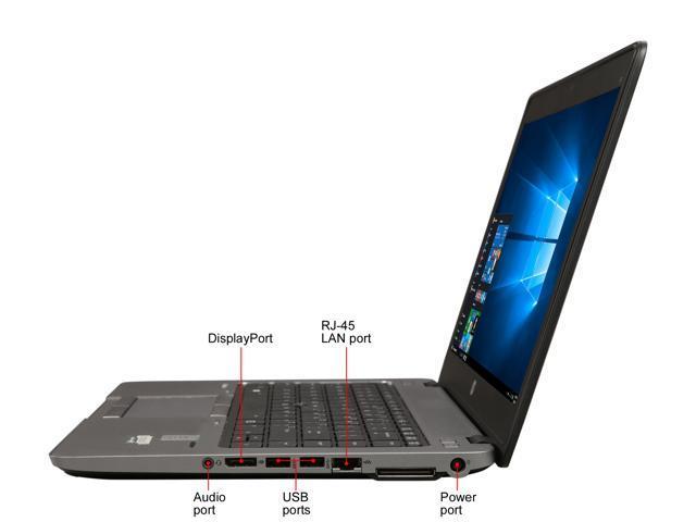 "Refurbished: HP Laptop Grade A EliteBook 840 G1 Intel Core i5 4th Gen 4300U (1.90 GHz) 8 GB Memory 240 GB SSD Intel HD Graphics 4400 14.0"" Windows 10 Pro 64-Bit"