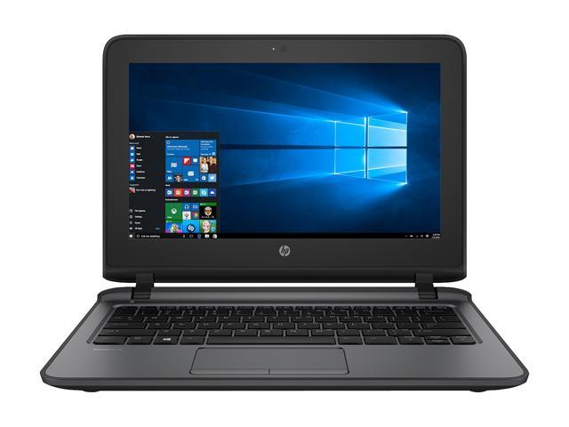"HP Laptop ProBook 11 EE G2 4HY34UP#ABA Intel Core i3 6th Gen 6100U (2.30 GHz) 8 GB Memory 128 GB SSD Intel HD Graphics 520 11.6"" Touchscreen Windows 10 Pro 64-Bit"