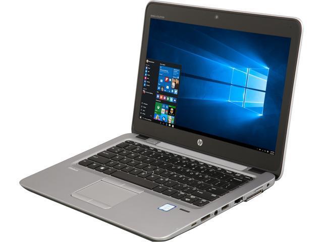"Refurbished: HP Grade B Laptop 820 G3 Intel Core i5 6th Gen 6300U (2.40 GHz) 8 GB Memory 256 GB SSD 12.5"" Windows 10 Pro 64-bit"