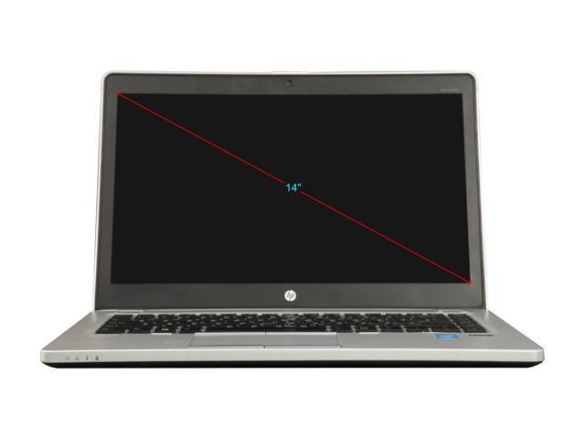 "Refurbished: HP Grade A Laptop 9480M Intel Core i7 4th Gen 4600U (2.10 GHz) 16 GB Memory 256 GB SSD 14.0"" Windows 10 Pro 64-bit"