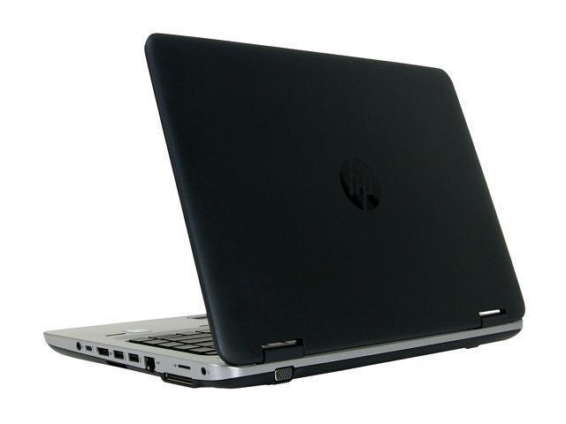 "Refurbished: HP Grade A Laptop ProBook 640 G2 Intel Core i5 6th Gen 6300U (2.40 GHz) 8 GB Memory 256 GB SSD 14.0"" Windows 10 Pro 64-bit"